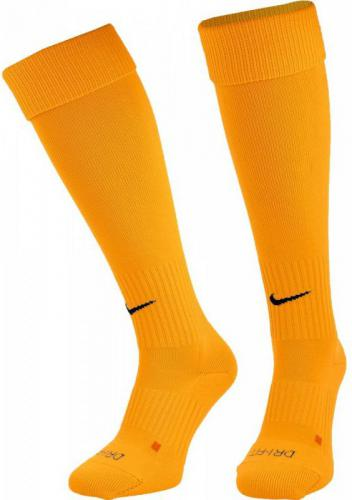 Nike Getry piłkarskie Classic II Cush Over-the-Calf żółte r. S (SX5728-739)