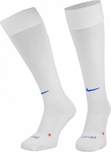 Nike Getry piłkarskie Performance Stirrup Team biało-niebieskie r. L (SX5731-101)