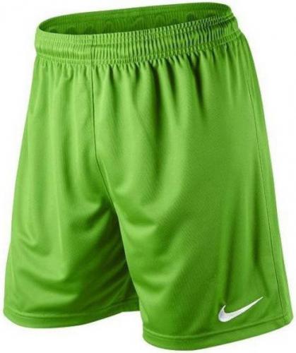 Nike Spodenki piłkarskie Park Knit Short Junior zielone r. S (448263-350)
