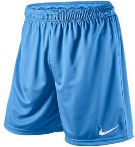 Nike Spodenki piłkarskie Park Knit Short Junior niebieskie r. (S448263-412)