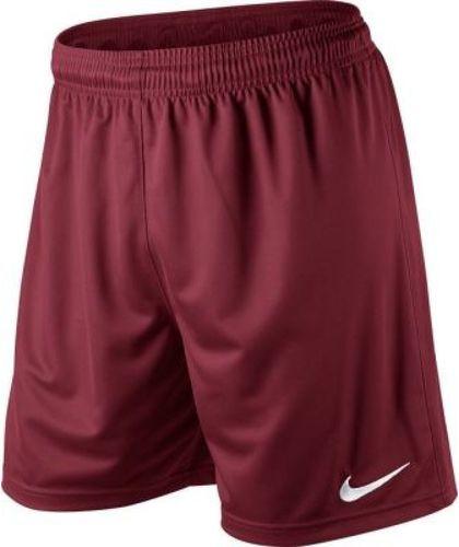 Nike Spodenki juniorskie Park Knit Short bordowe r. L (448263-677)