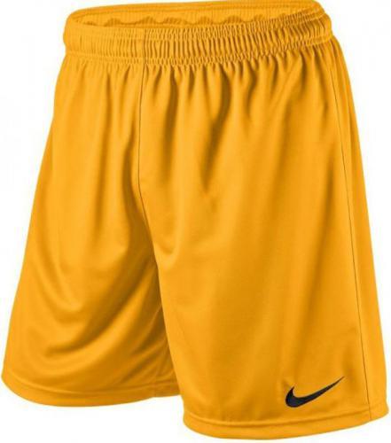 Nike Spodenki piłkarskie Park Knit Short Junior żółte r. S (448263-739)