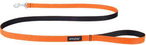 Ami Play Smycz   Twist S 150 x 1cm Pomarańczowy