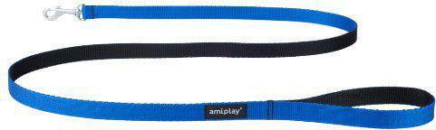 Ami Play Smycz   Twist S 150 x 1cm Niebieski