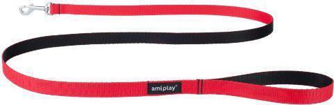 Ami Play Smycz   Twist L 150 x 2cm Czerwony