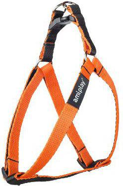 Ami Play Szelki regulowane Twist S 20-35 [c, d] x 1cm Pomarańczowy