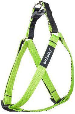 Ami Play Szelki regulowane Twist M 30-55 [c, d] x 1.5cm Zielony