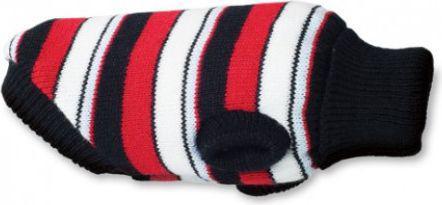 Ami Play Sweterek dla psa Glasgow 19 cm Paski czerwone