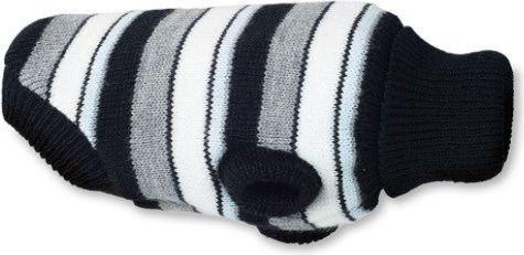 Ami Play Sweterek dla psa Glasgow 19 cm Paski szare