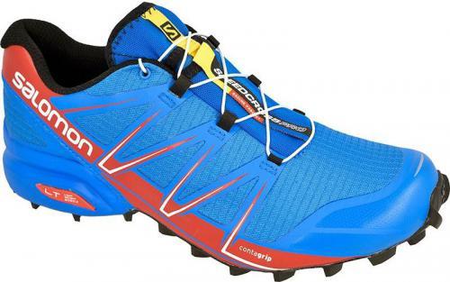 Salomon Buty biegowe Speedcross Pro M niebiesko-czerwone r. 41 1/3 (L37909500)