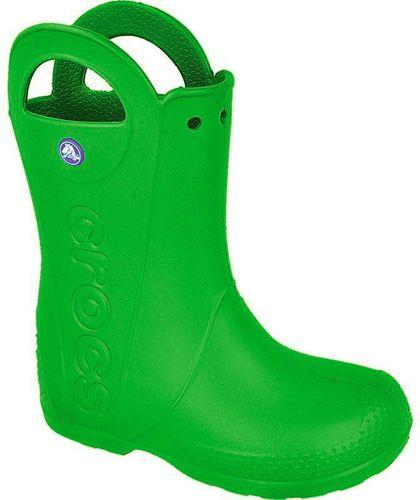Crocs Kalosze dziecięce Handle It Kids ciemno-zielone r. 32/33 (12803)
