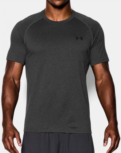 Under Armour Koszulka męska Tech Short Sleeve T-Shirt Carbon Heather r. M (1228539090)