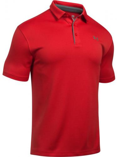 Under Armour Koszulka męska Tech Polo czerwona r. S (1290140-600)