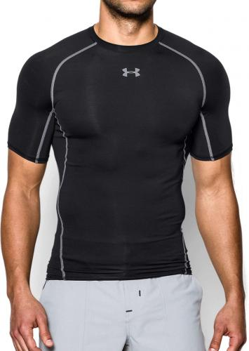 Under Armour Koszulka męska HeatGear Armour Compression Black r. L (1257468001)