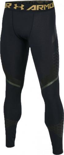Under Armour Spodnie męskie HeatGear Armour Zone Compression Leggings czarne r. XL (1289579-001)