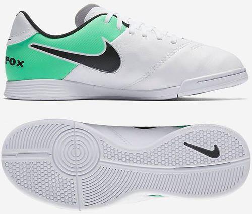 Nike Buty dziecięce TiempoX Legend VI IC Jr białe r. 38 (819190-103)