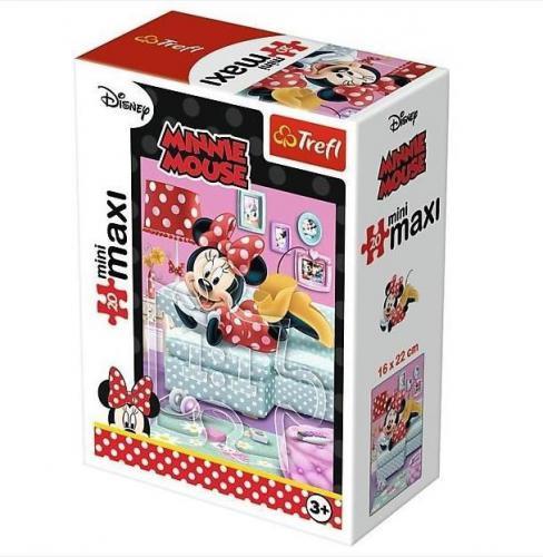 Trefl Puzzle 20 miniMaxi - Ulubione zajęcia Minni 4 (249307)