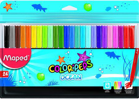 Maped Flamastry Colorpeps Ocean (160330)