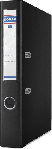 Segregator Donau Premium dźwigniowy A4 50mm czarny (3955001PL-01)