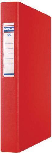 Segregator Donau 2-ringowy A4 40mm czerwony (3734001PL-04)