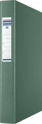 Segregator Donau 4-ringowy A4 40mm zielony (3735001PL-06)