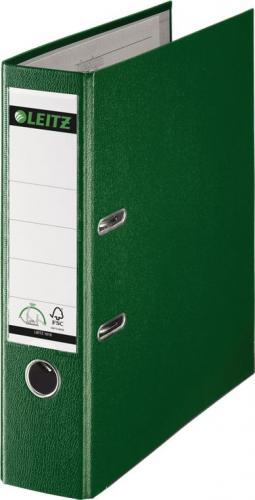 Segregator Leitz 180° dźwigniowy A4 80mm zielony (10101055)