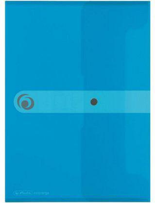 Herlitz Teczka A5 PP na dokumenty Easy Orga Niebieska transparentna (199797)