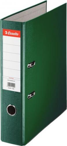 Segregator Esselte Ekonomiczny dźwigniowy A4 75mm zielony (11256)
