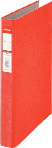 Segregator Esselte Rainbow 2-ringowy A4 42mm czerwony (17934)