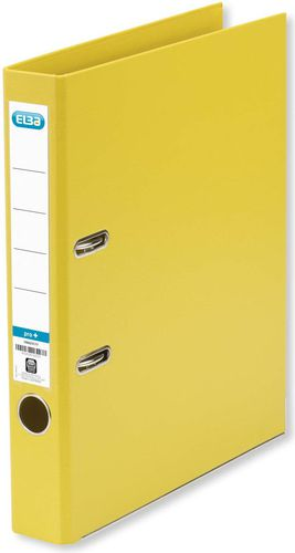 Segregator Elba Pro+ dźwigniowy A4 50mm żółty (100202099)