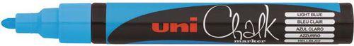 Uni Mitsubishi Pencil MARKER PWE-5M NIEBIESKI DO CZARNYCH TABLIC (PWE-5M/NIEB)