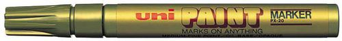 Uni Mitsubishi Pencil MARKER UNI OLEJOWY ZŁOTY (PX20ZŁ)
