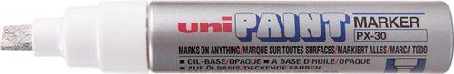 Uni Mitsubishi Pencil MARKER UNI PX-30 OLEJOWY SREBRNY (PX30SR)