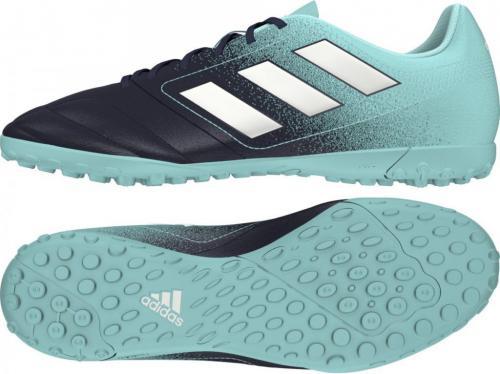 Adidas Buty piłkarskie ACE 17.4 TF czarno-niebieskie r. 43 1/3