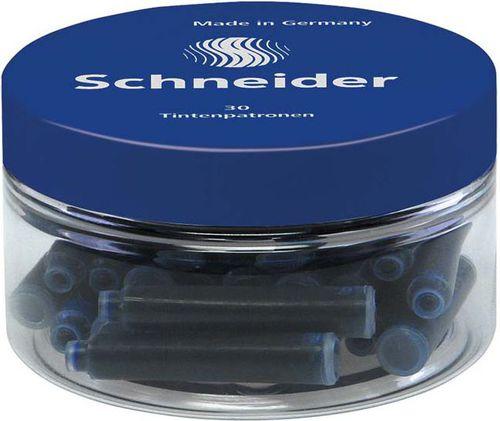 Schneider Naboje Do Piór 30 Szt. Niebieski SR6703