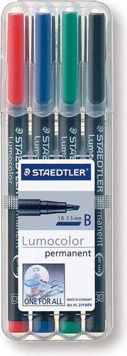 Staedtler FOLIOPIS STAEDTLER LUMOCOLOR B 4SZT - S314WP4