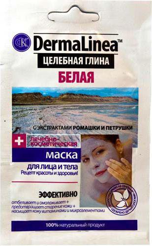 Fitocosmetics Dermalinea Biała glinka kosmetyczna 15ml