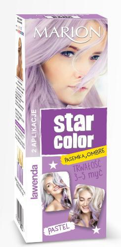 Marion Star Color Pastel Krem koloryzujący Lawenda 2x35ml