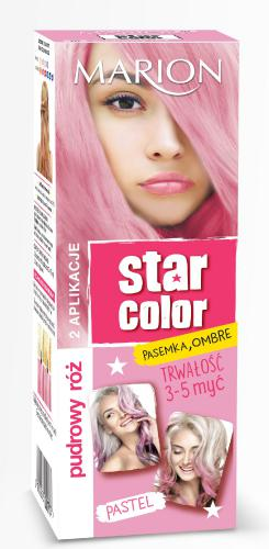 Marion Star Color Pastel Krem koloryzujący Pudrowy Róż  2x35ml