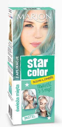 Marion Star Color Pastel Krem koloryzujący Świeża Mięta  2x35ml
