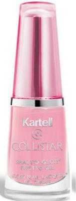 Collistar Kartell Gloss Nail Lacquer Gel Effect żelowy lakier do paznokci 515 Rosa Victoria 6ml