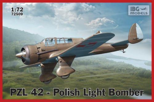 Ibg PZL 42 Polish Light  Bomber (72509)