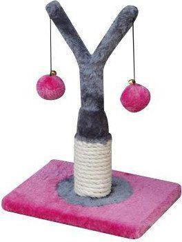 YARRO Drapak Mini Drzewko różowo-szary 18x18x32cm