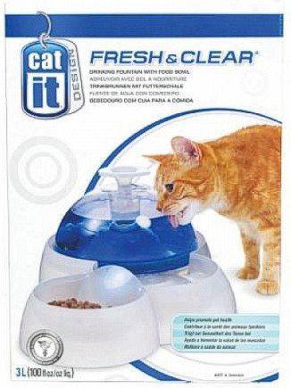 Catit Design Fresh & Clear - Poidło Fontanna 3L