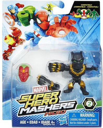 Hasbro Super Hero Mashers Micro Black  Panther (B6431)