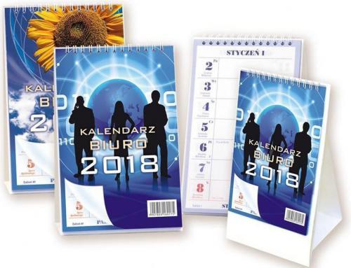 Aniew Kalendarz 2018 Biurkowy stojący BIUREX (250796)