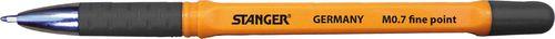 Stanger Długopis Softgrip czarny 0.7