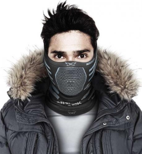 NAROO Maska sportowa X9 czarno-szara