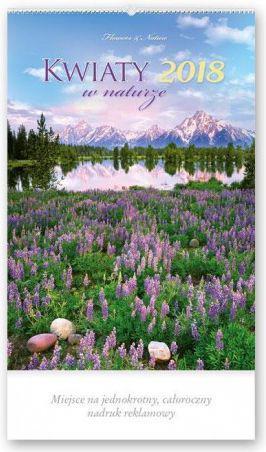 Lucrum Kalendarz reklamowy 2018 - Kwiaty w naturze RW21 (250575)