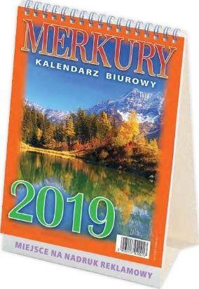 TELEGRAPH Kalendarz 2019 Biurowy Merkury (246237)